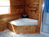 Mystic Lodge: Master Bath