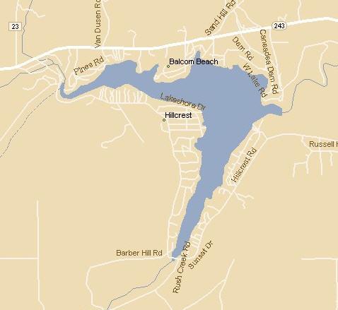 rushford lake ny map Rushford Lake rushford lake ny map